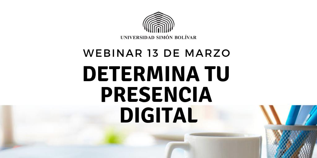 Webinar Universidad Simón Bolívar
