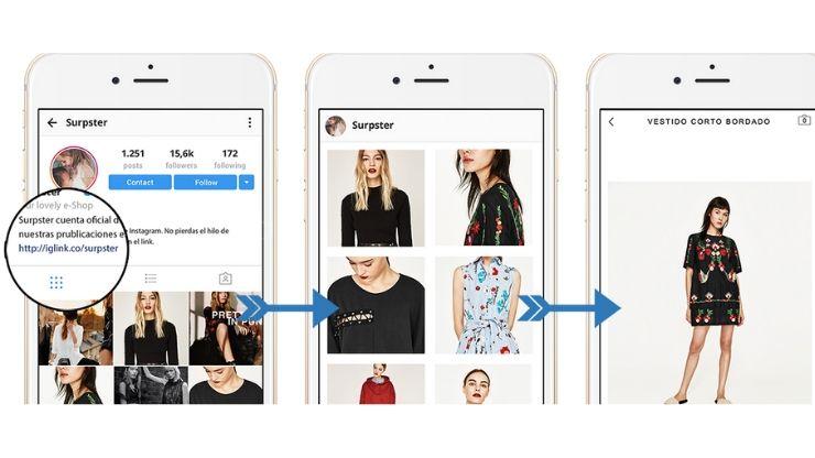 herramienta para poner enlace en Instagram
