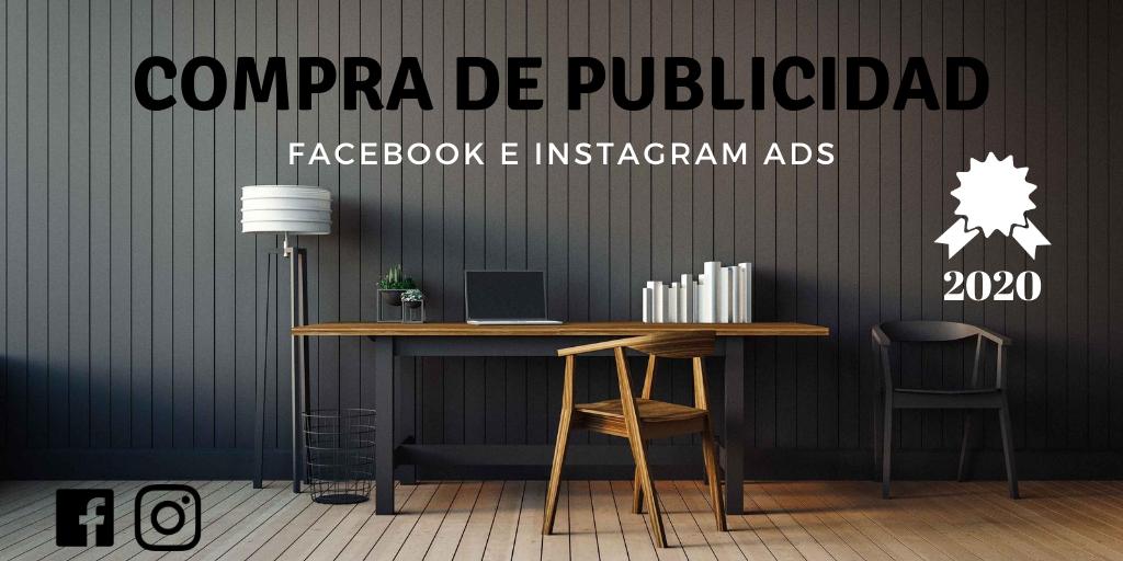 Compra de publicidad en Facebook e Instagram
